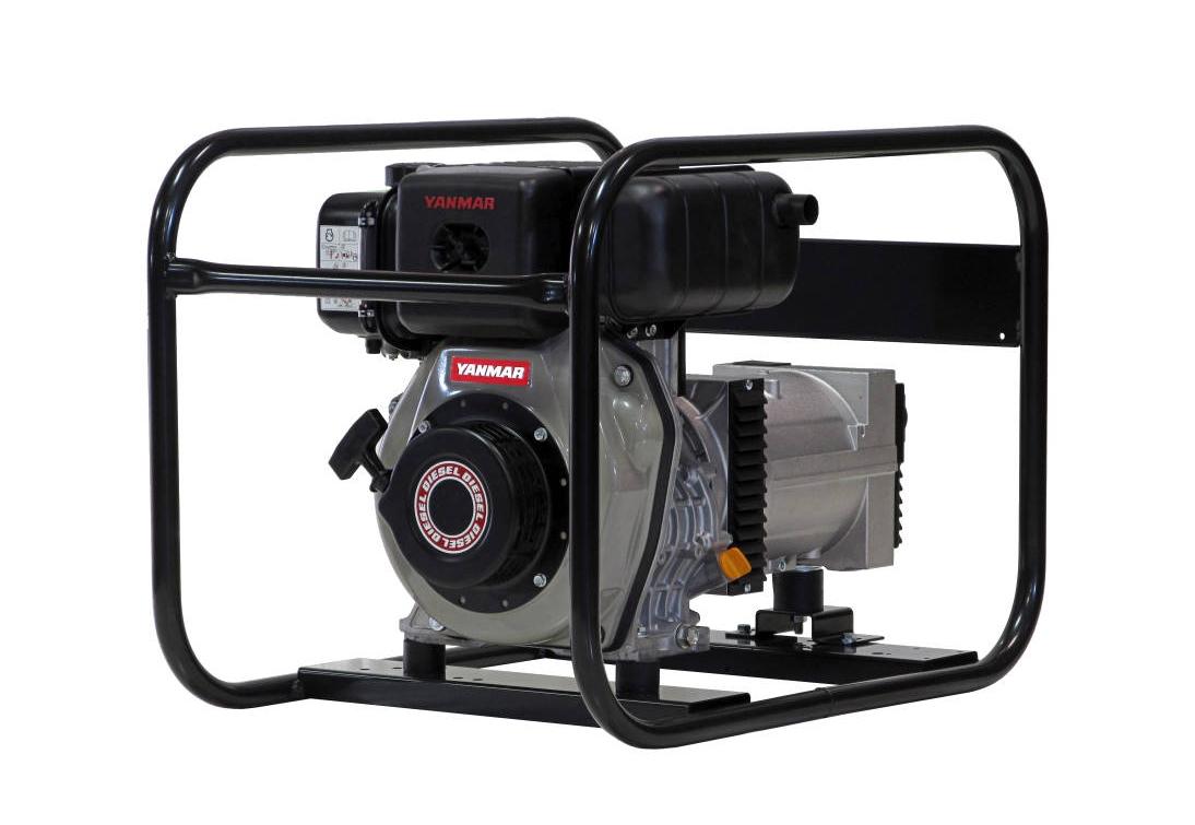 Дизельный генератор (электростанция) Europower EP 4000 D